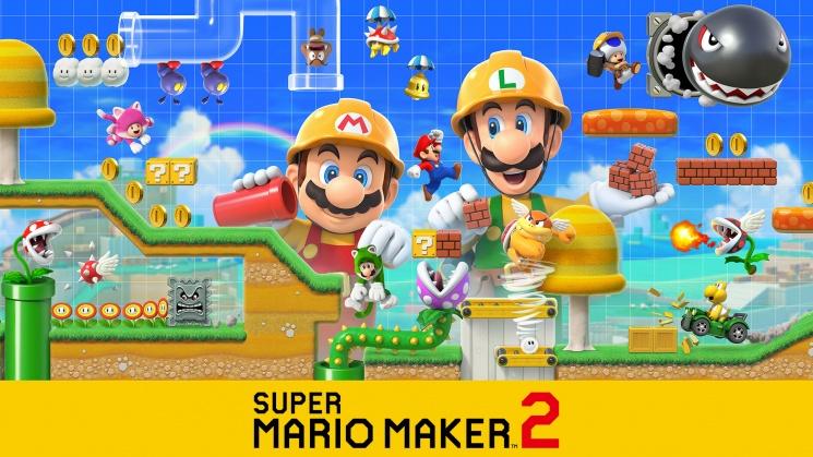 Jogo Nintendo Switch Super Mario Maker 2