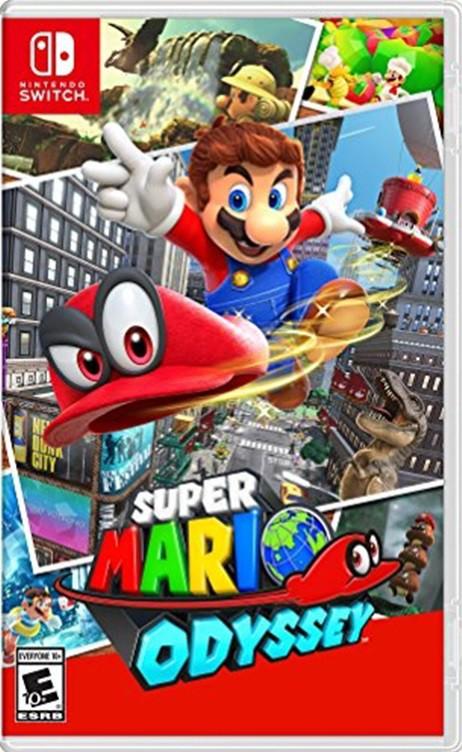 Jogo Nintendo Switch Super Mario Odyssey
