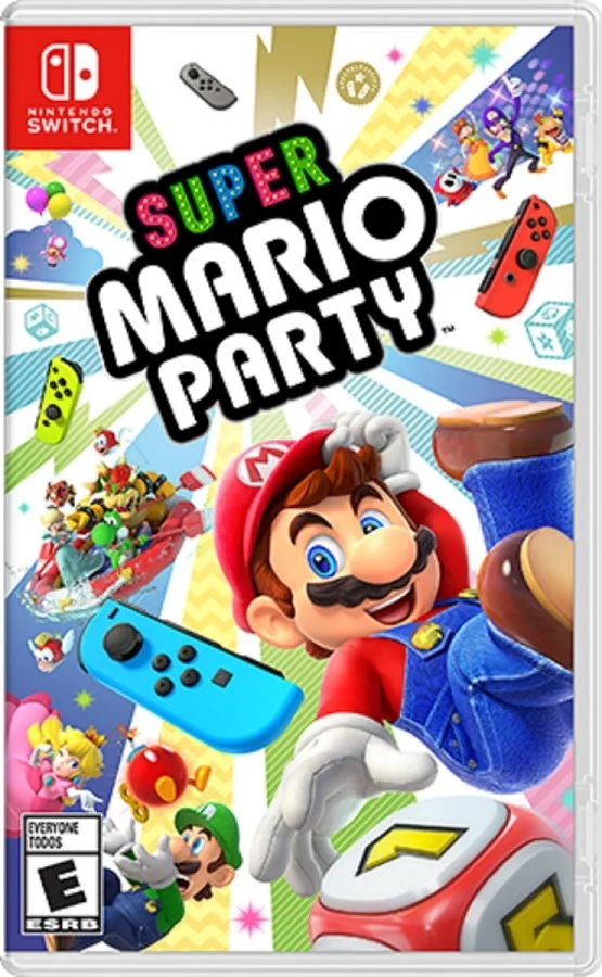 Jogo Nintendo Switch Super Mario Party