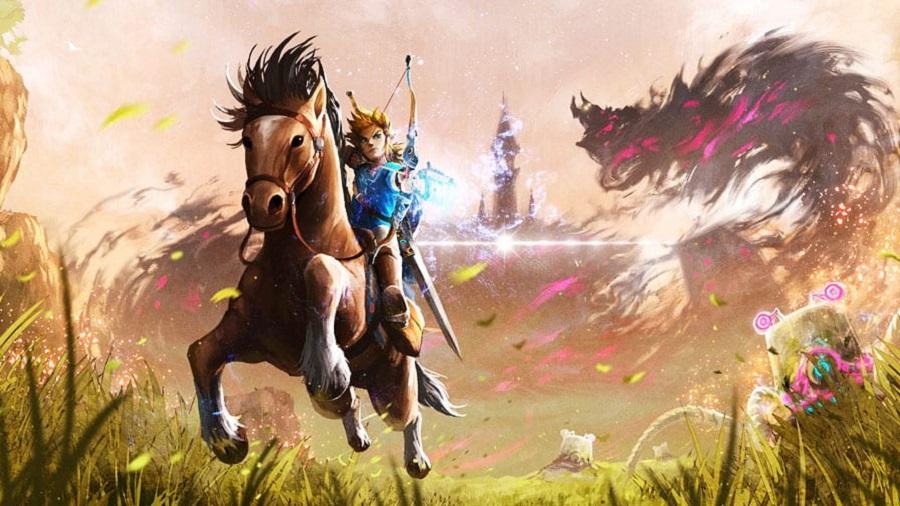 Jogo Nintendo Switch The Legend Of Zelda: Breath of the Wild