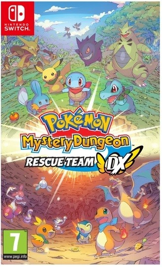 Jogo Nitendo Switch Pokemon Mystery Dungeon Rescue Team Dx
