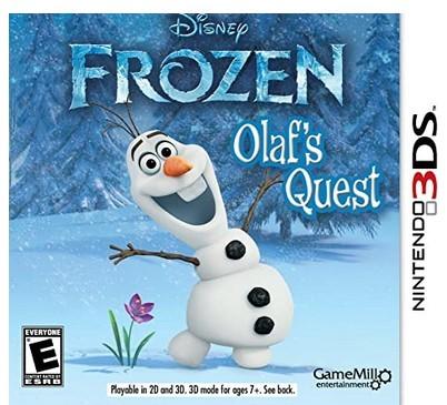 Jogo Novo 3DS Disney frozen olaf s Quest