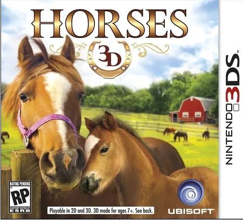 Jogo Novo 3DS Horses 3D