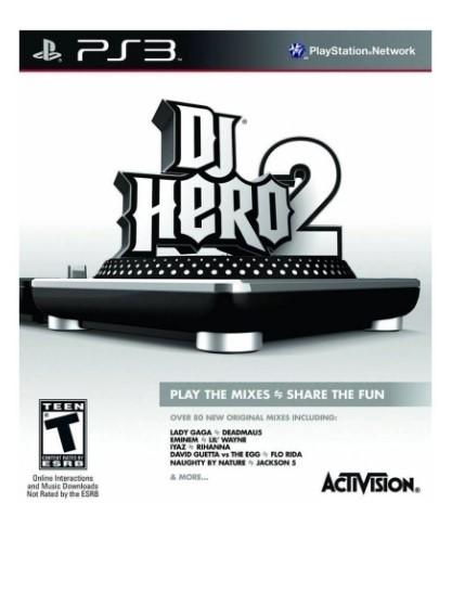 Jogo Novo PS3 DJ Hero 2