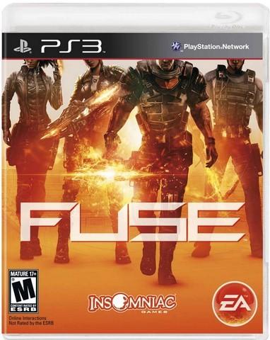 Jogo Novo PS3 Fuse