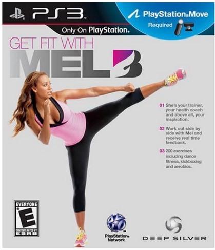 Jogo Novo PS3 Get Fit With Mel V