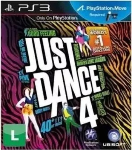 Jogo Novo PS3 Just Dance 4