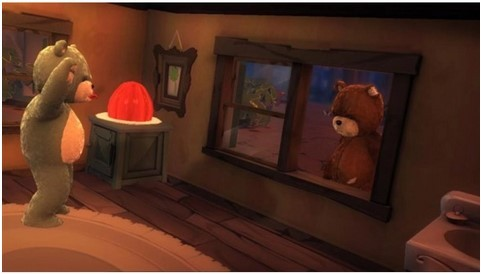 Jogo Novo PS3 Naughty Bear Gold Edition