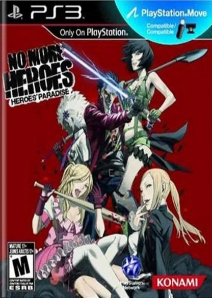 Jogo Novo PS3 No More Heroes: Heroes Paradise