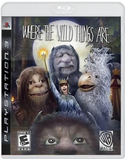 Jogo Novo PS3 Onde Vivem Os Monstros