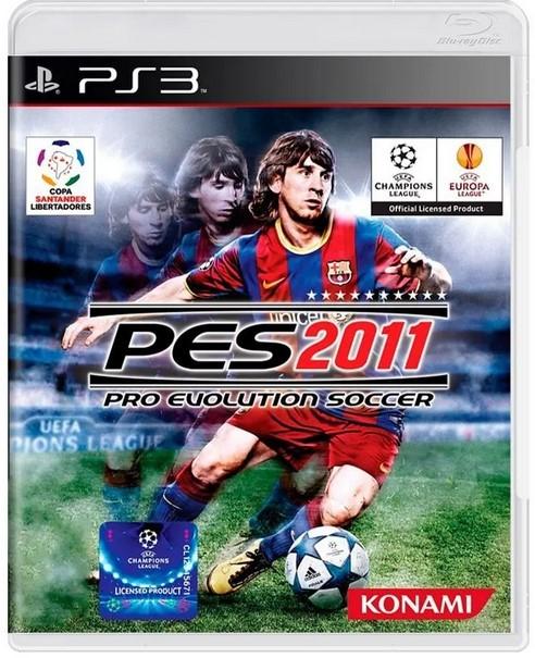 Jogo Novo PS3 Pro Evolution Soccer PES 2011