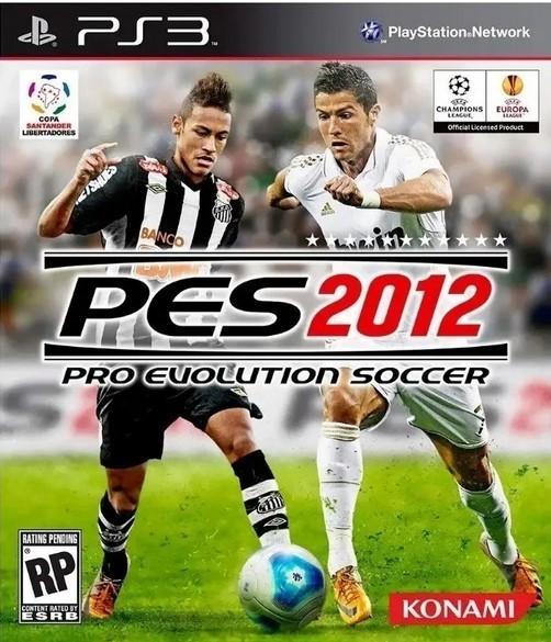 Jogo Novo PS3 Pro Evolution Soccer PES 2012
