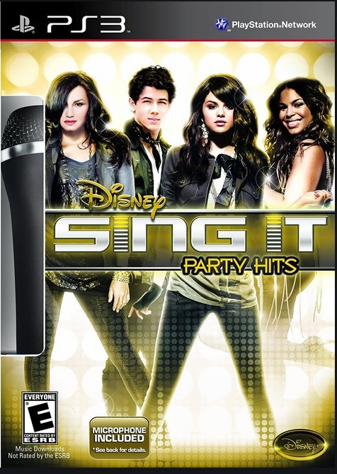 Jogo Novo PS3 Sing It Party Hits