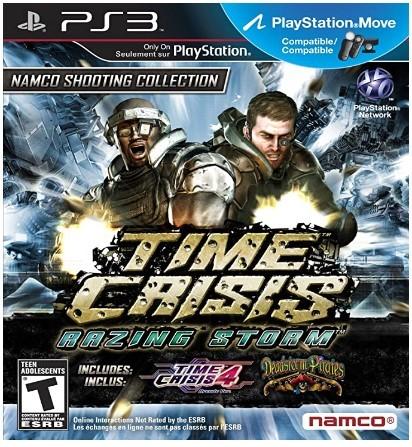 Jogo Novo PS3 Time Crisis Razing Storm