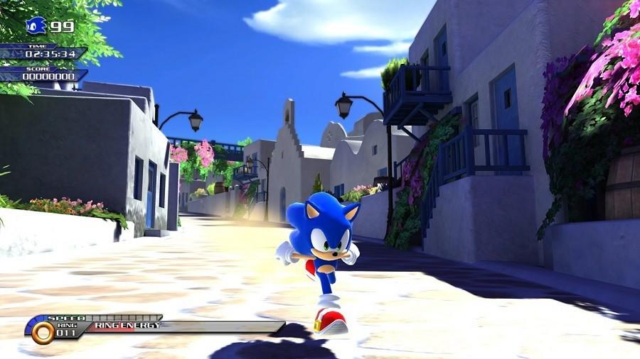 Jogo Novo Xbox 360 Sonic Unleashed