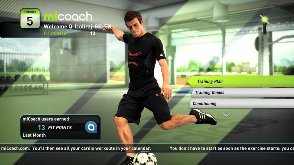 Jogo PS3 Mi Coach by Adidas