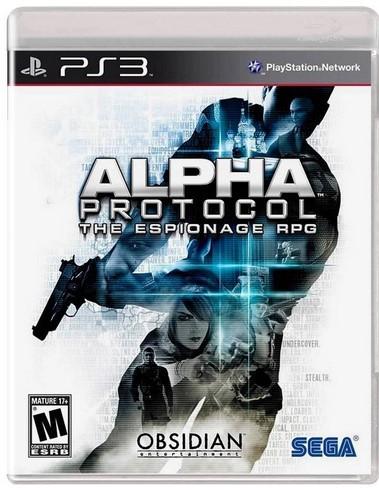 Jogo PS3 Novo Alpha Protocol