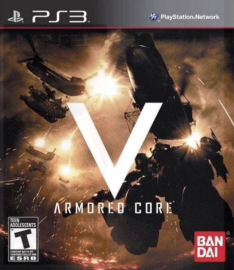 Jogo PS3 NOVO Armored Core V