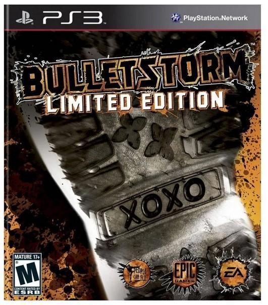 Jogo PS3 Novo Bulletstorm Limited Edition