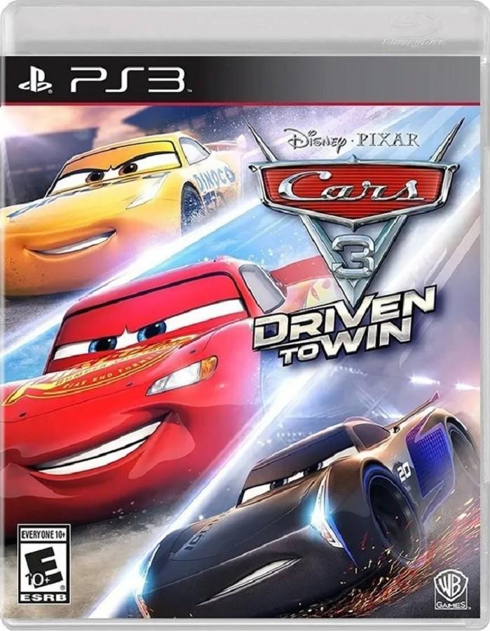 Jogo PS3 NOVO Cars 3: Driven to Win
