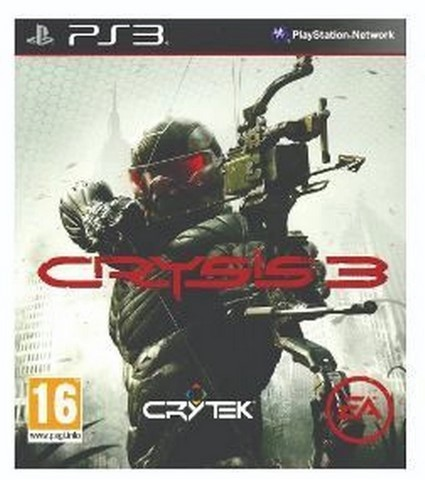 Jogo PS3 Novo Crysis 3