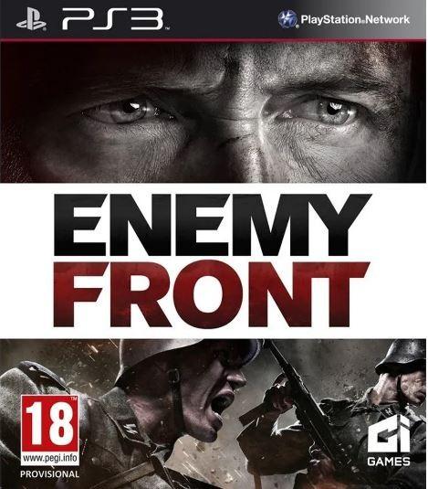 Jogo PS3 Novo Enemy Front