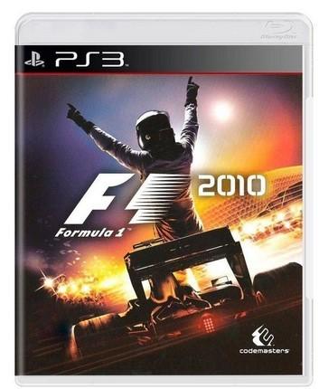 Jogo Ps3 Novo F1 2010