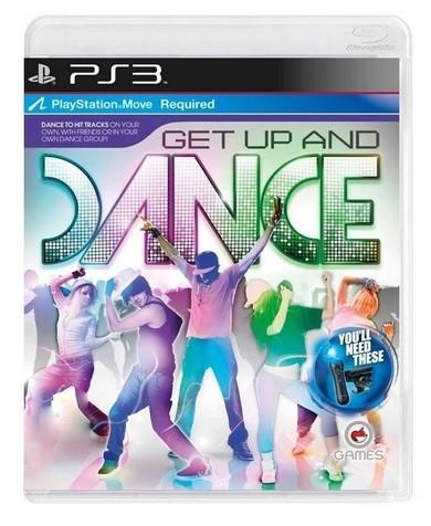 Jogo PS3 Novo Get Up And Dance