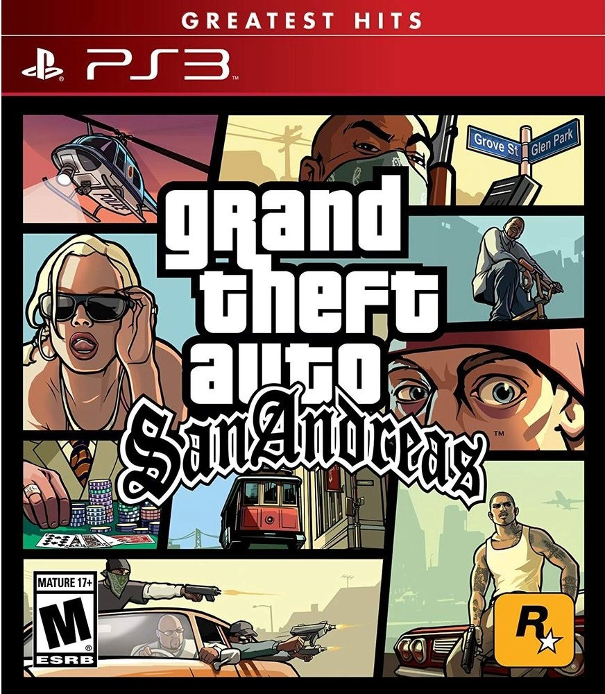 Jogo PS3 NOVO Grand Theft Auto V: San Andreas + Brinde 1 Mousepad Gamer