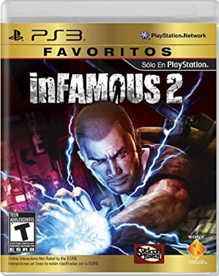 Jogo PS3 NOVO Infamous 2 - Favoritos