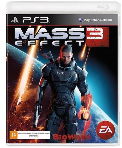 Jogo PS3 Novo Mass Effect 3