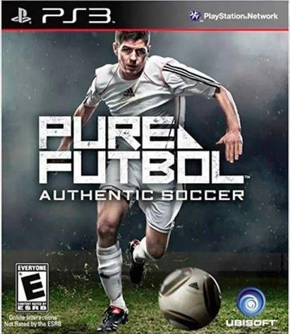 Jogo PS3 NOVO Pure Futbol