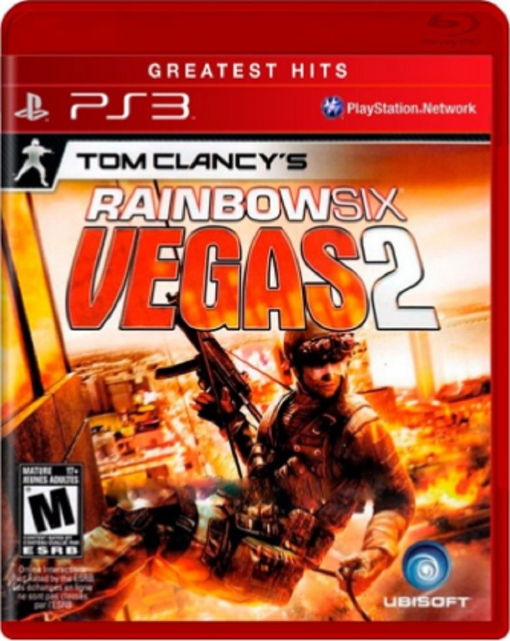Jogo PS3 NOVO Rainbow Six Vegas 2