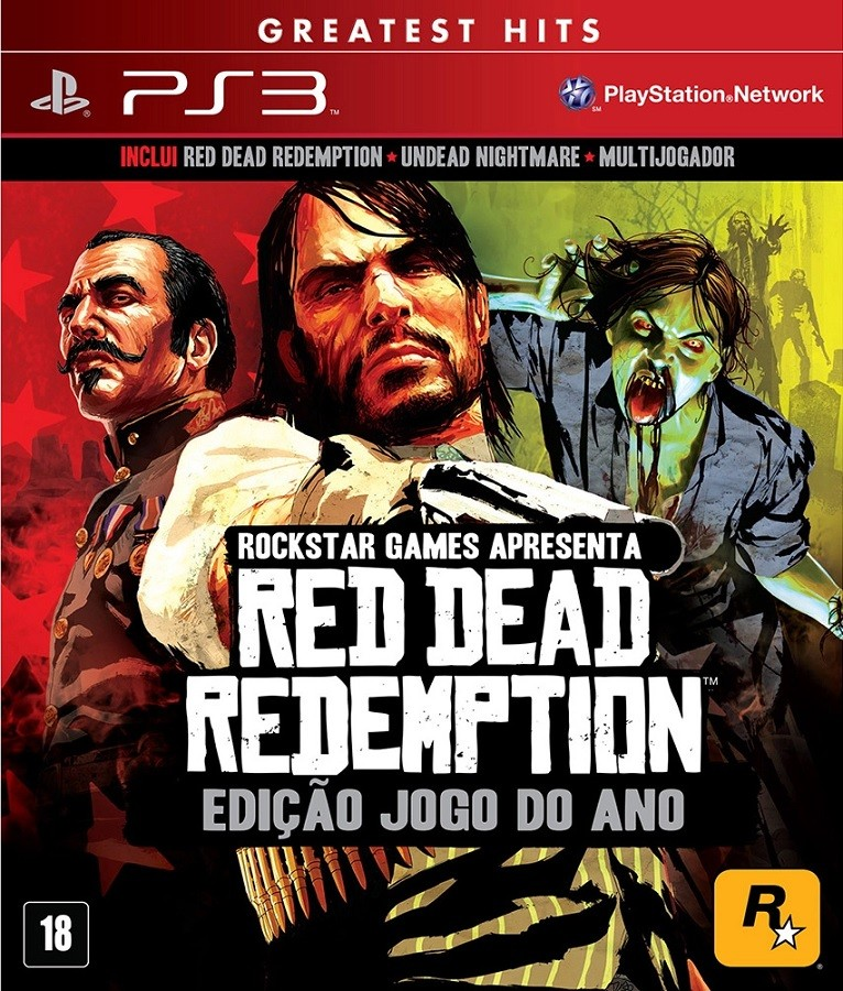 Jogo PS3 NOVO Red Dead Redemption Game of The Year