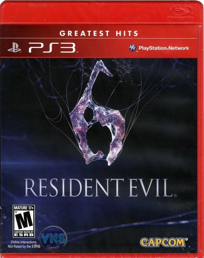 Jogo PS3 NOVO Resident Evil