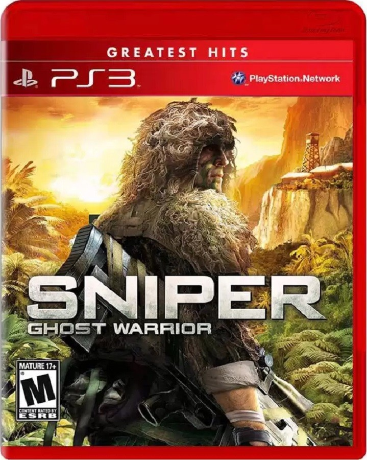Jogo PS3 NOVO Sniper Ghost Warrior - Greatest Hits