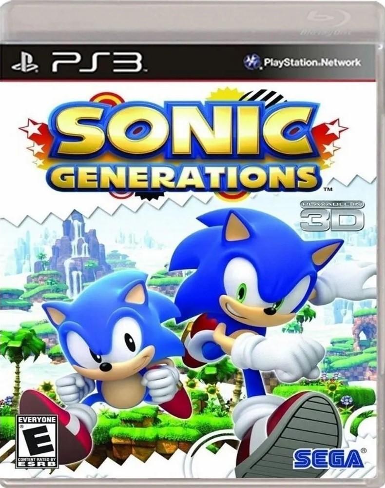 Jogo PS3 NOVO Sonic Generations