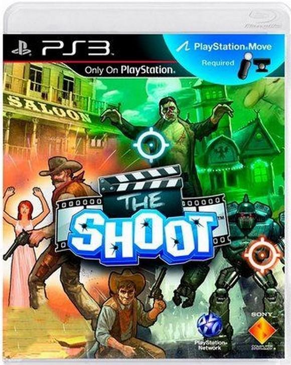Jogo PS3 Novo The Shoot
