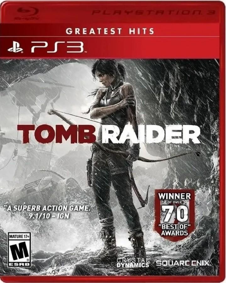 Jogo PS3 NOVO Tomb Raider - Greatest Hits