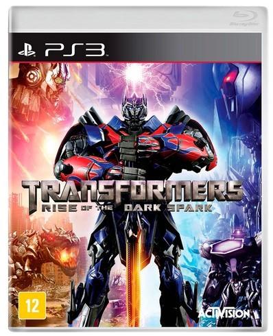 Jogo PS3 Novo Transformers Rise Of The Dark Spark