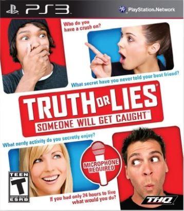 Jogo PS3 NOVO Truth Or Lies