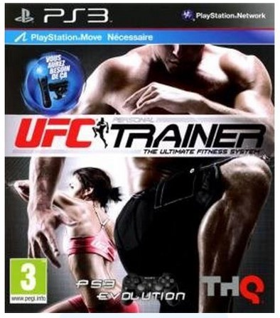 Jogo PS3 Novo UFC Trainer The Ultimate Fitness