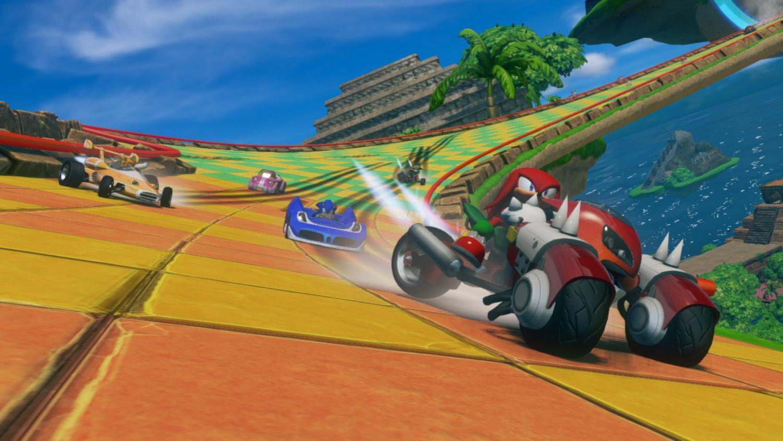 Jogo Novo PS3 Sonic & Sega All-Stars Racing
