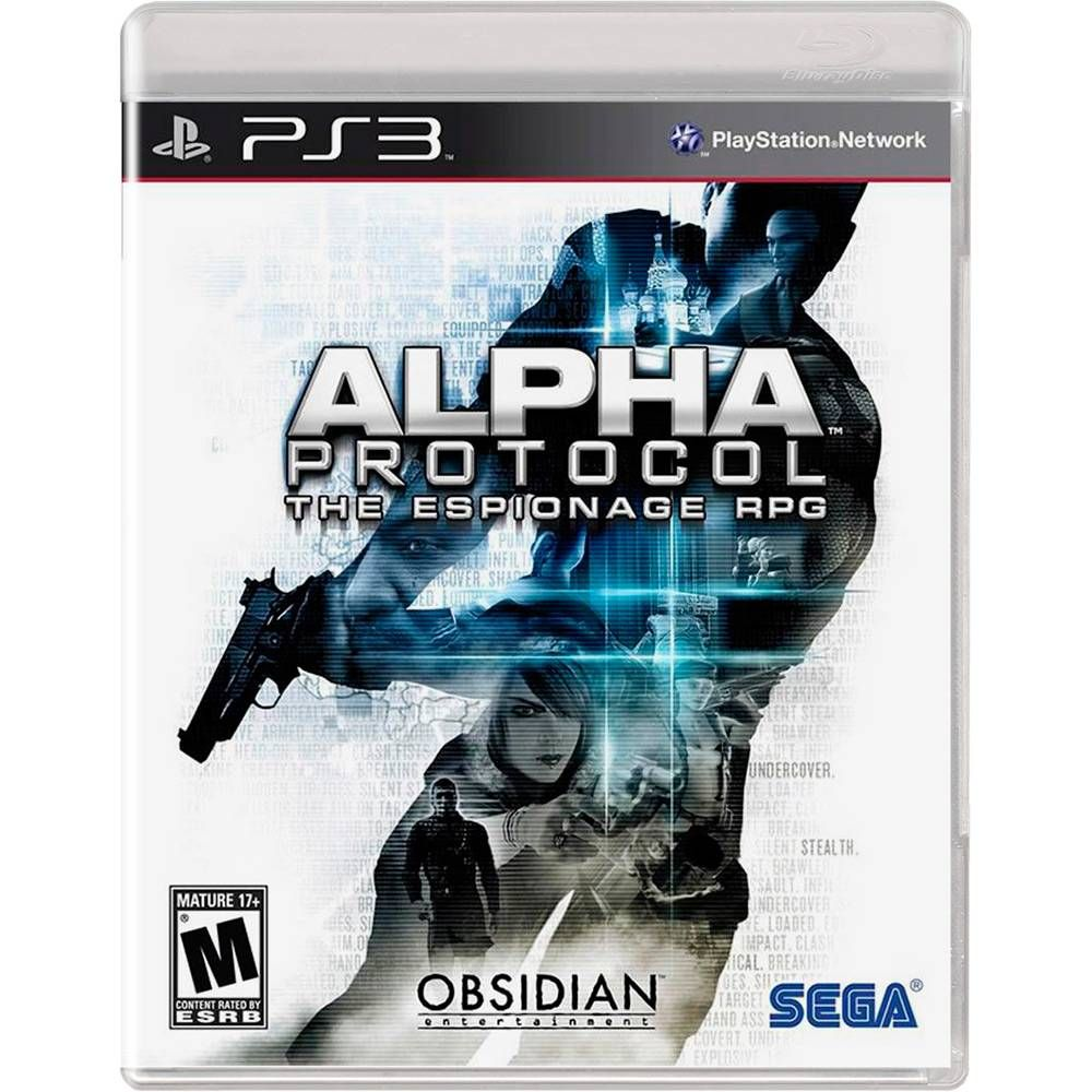 Jogo PS3 Usado Alpha Protocol RPG