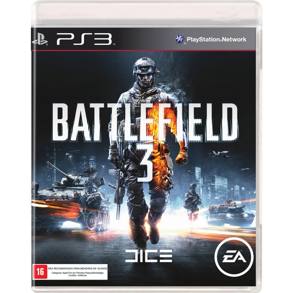 Jogo PS3 Usado Battlefield 3