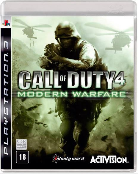 Jogo PS3 Usado Call Of Duty 4 Modern Wa