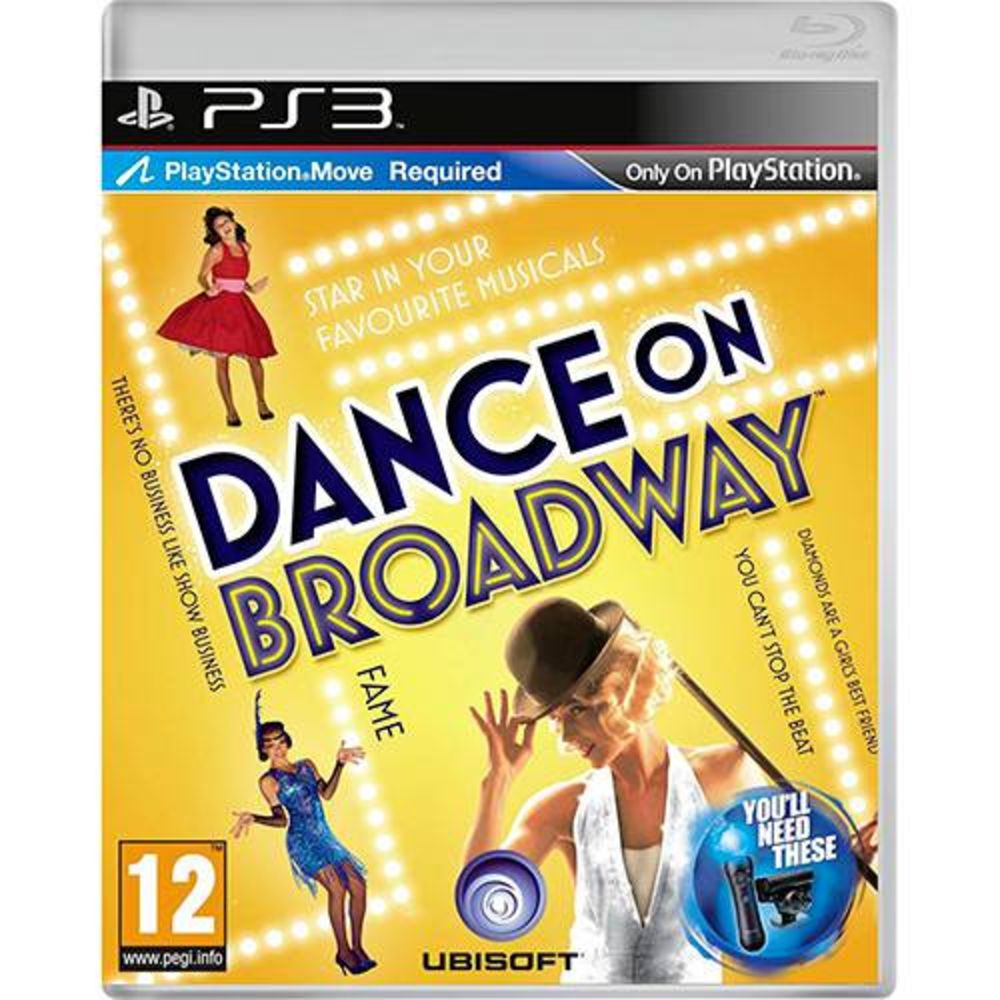 Jogo PS3 Usado Dance On Broadway
