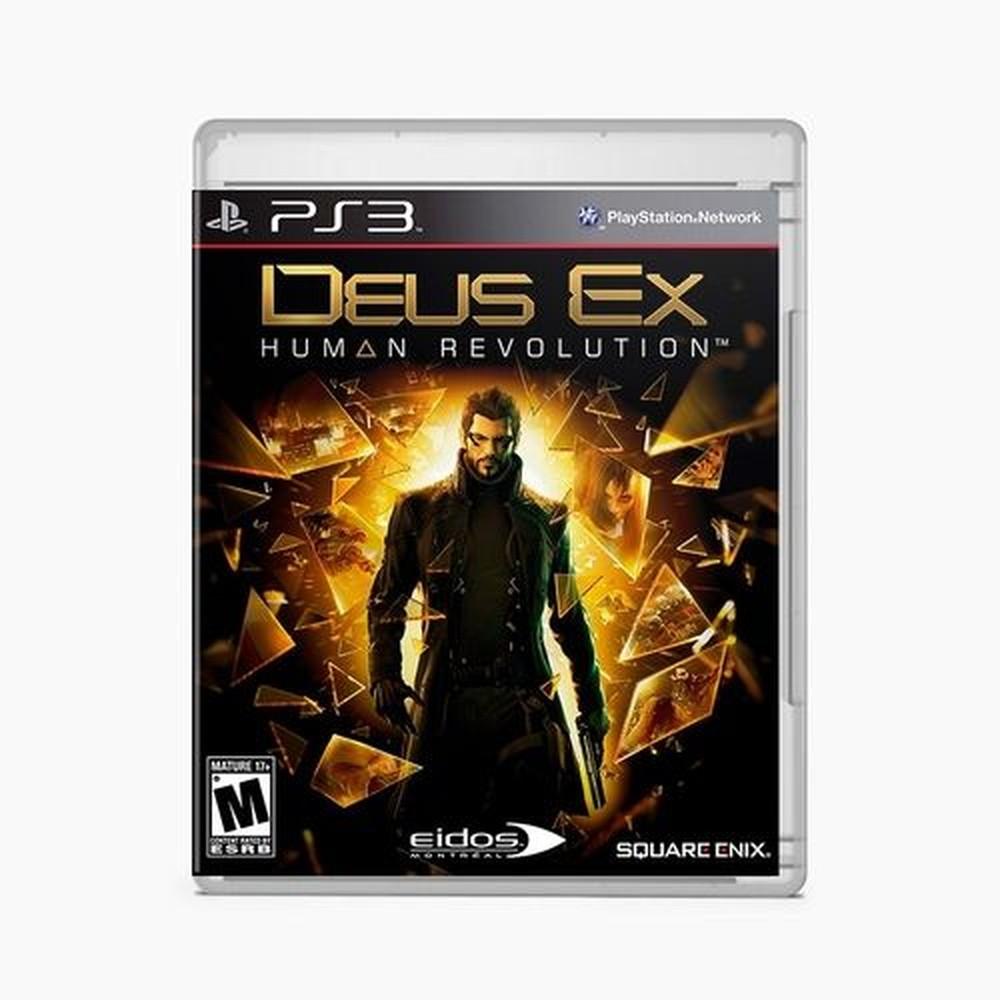Jogo PS3 Usado Deus Ex Human Revolution