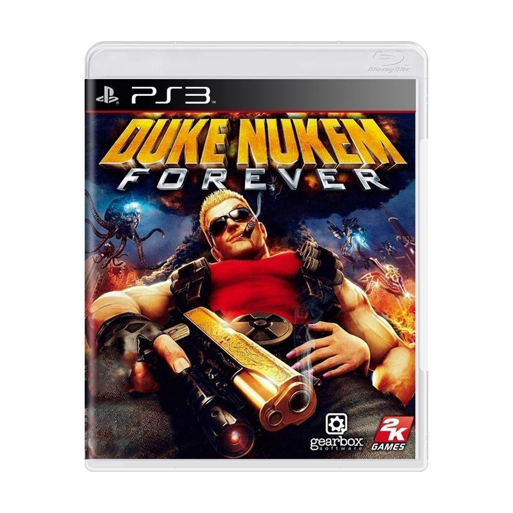 Jogo PS3 Usado Duke Nukem Forever