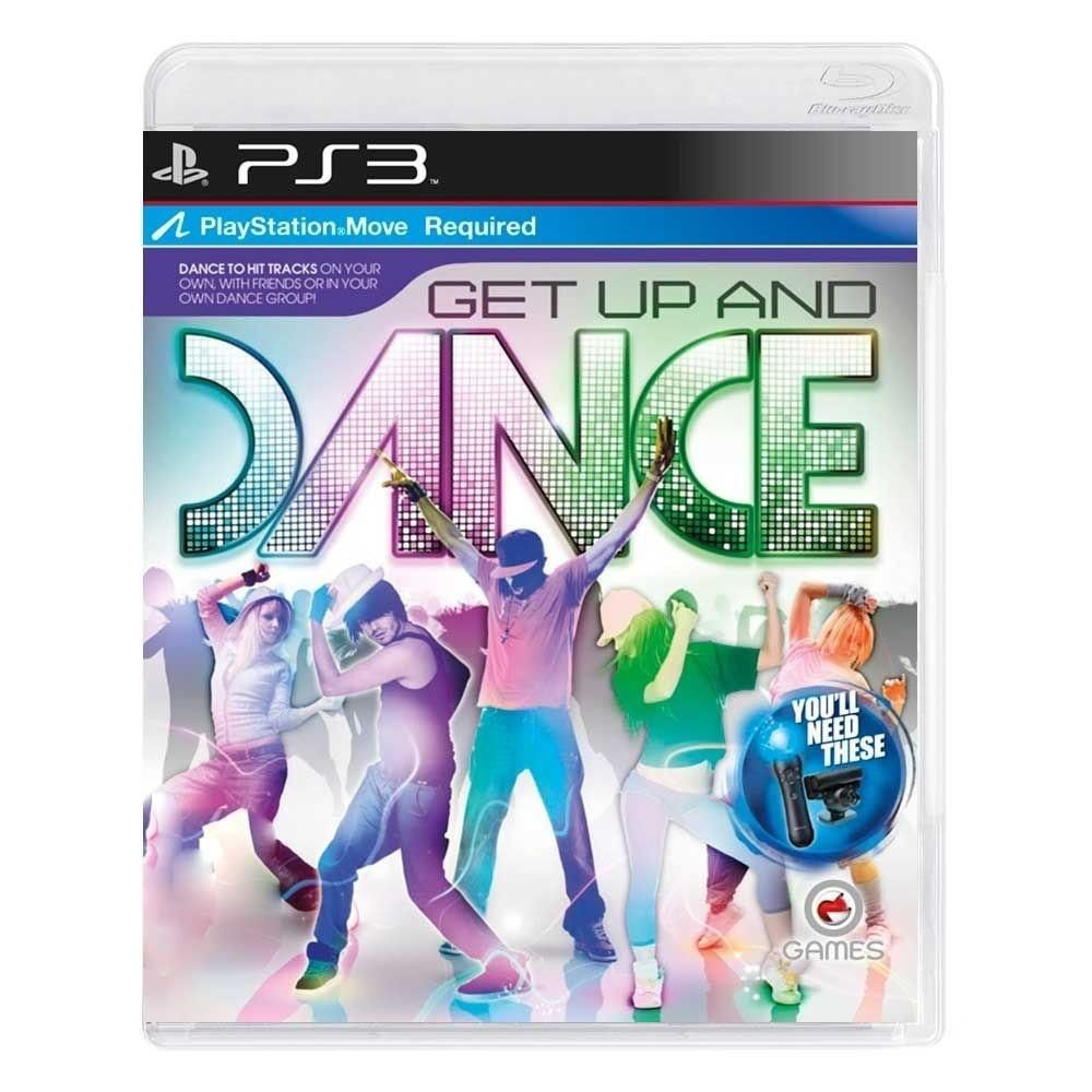 Jogo PS3 Usado Get Up And Dance